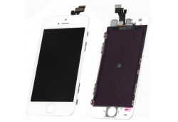 iPHONE 5 LCD TOUCH SCREEN DISPLAY DIGITIZER GLASS ASSEMBLY UNIT WHITE